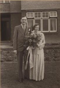 Hugh Wharton and Vera May Martin (My grandparents)