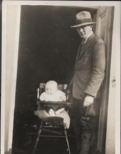 Hugh Wharton and son John Arthur Martin Wharton