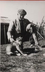 Hugh Wharton at Old Hall Farm in Ingoldisthorpe